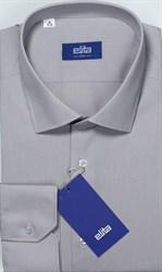 Серая однотонная рубашка