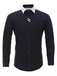 Приталенная рубашка Bawer RZ1113008-02