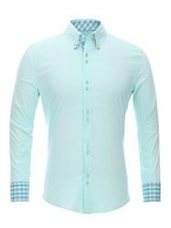 Приталенная рубашка Bawer RZ1111004-05