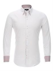 Приталенная рубашка Bawer RZ1111005-02