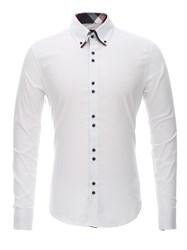 Приталенная рубашка Bawer RZ1111005-04