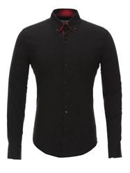 Приталенная рубашка Bawer RZ1111005-05 черная