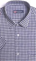 Большая рубашка лен/хлопок