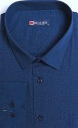 Большая стрейч рубашка 8LG93-3g BROSTEM