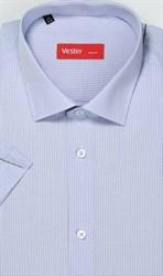 Большая сиреневая сорочка короткий рукав VESTER 729141-09