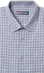 Бежевая рубашка короткий рукав