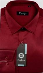Красная мужская рубашка
