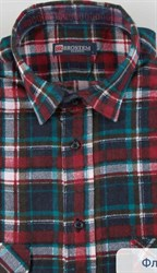 Красная байковая рубашка