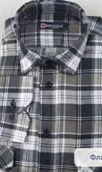 Фланелевая рубашка 100% хлопок BROSTEM F11313-3(F-201)