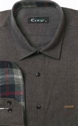 Фланелевая приталенная рубашка City Race 9LCR4-2