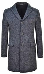 Трикотажное демисезонное пальто ВАЛАНС SF