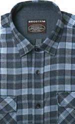 Полуприталенная фланелевая рубашка с шерстью KA9L5-4