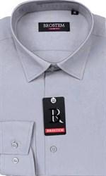 Прямая мужская рубашка BROSTEM CVC15B