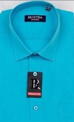 Прямая мужская рубашка BROSTEM CVC 59