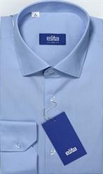 Синяя сорочка на высокий рост