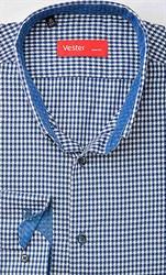 Рубашка приталенная VESTER 19414-10sp-20