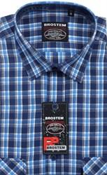 100% хлопок большая рубашка SH662g BROSTEM