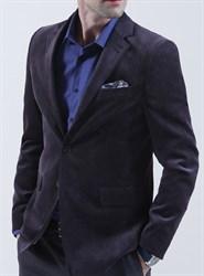 Вельветовый пиджак полуприталенный BF 1309
