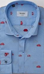 Рубашка 100% хлопок VESTER 24016-23sp-20