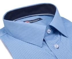 Большая мужская рубашка с коротким рукавом 1SG60-4sg