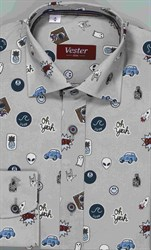 Школьная сорочка VESTER 10616-01