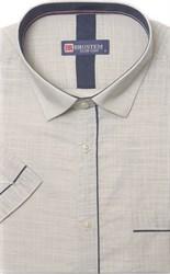 Мягкая летняя рубашка короткий рукав BROSTEM 1SBR039-3s*