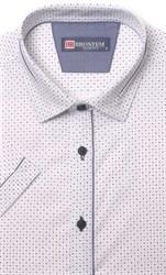 Хлопковая приталенная рубашка BROSTEM 1SBR085-1s**