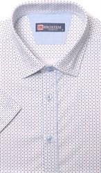 Хлопковая приталенная рубашка BROSTEM 1SBR085-3s