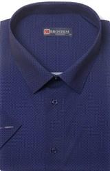 Большая хлопковая рубашка короткий рукав BROSTEM 1SG057-4