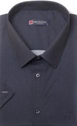 Большая хлопковая рубашка короткий рукав BROSTEM 1SG057-5