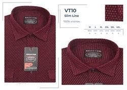 Вельветовая  рубашка хлопок полуприталенная Brostem  VT10