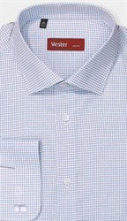 Рубашка прямая VESTER 27914-13w-21