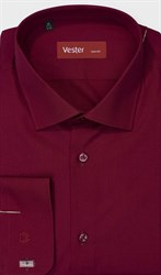На высоких бордовая сорочка VESTER 707142-92w-21