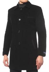 Пальто на утеплителе БРУНО черное