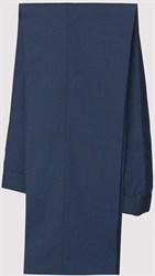 Синие брюки в лапку