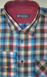 Мужская рубашка р.M Brostem лен/хлопок LN100-1