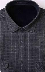 Зимняя мужская утепленная рубашка