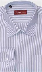 Большая рубашка в полоску