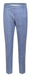 Голубые мужские брюки зауженные