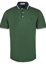Зеленое мужское поло за 1220 руб
