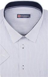 Большая мужская рубашка с коротким рукавом 1SG60-2sg
