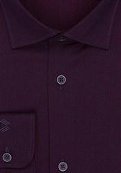 Рубашка хлопок цвета баклажан