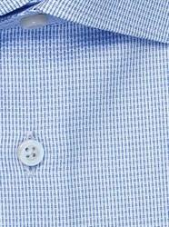 Голубая 100% хлопок рубашка VESTER 16341-07sp-21