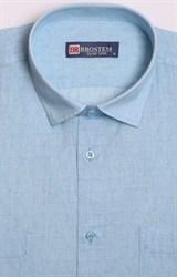 Голубая рубашка летняя