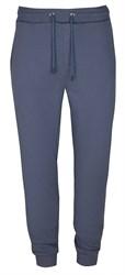 Синие трикотажные брюки