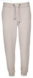Тренировочные светло-серые штаны на резинке