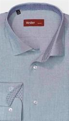На высокого мужчину рубашка голубая