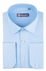 Приталенная рубашка 4706 с модалом