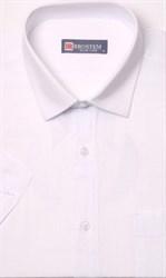 белая льняная рубашка короткий рукав
