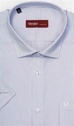 Большая рубашка в узкую полоску